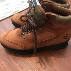 Timberland steel toe ladies boots size 7.5